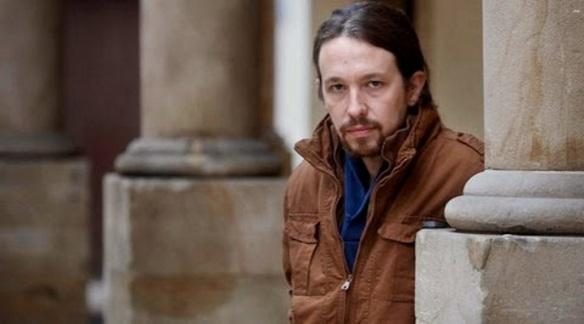 Pablo Iglesias, líder de Podemos (foto tomada de Internet)