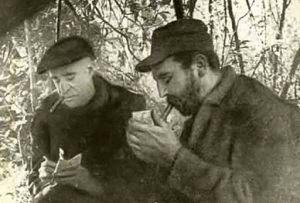 Herbert Matthews y Fidel Castro (CC)
