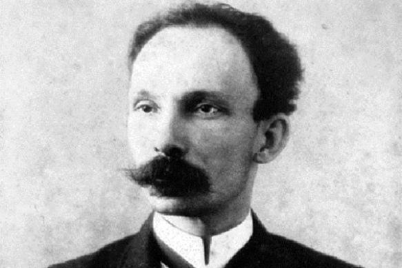 José Martí, héroe nacional de Cuba.