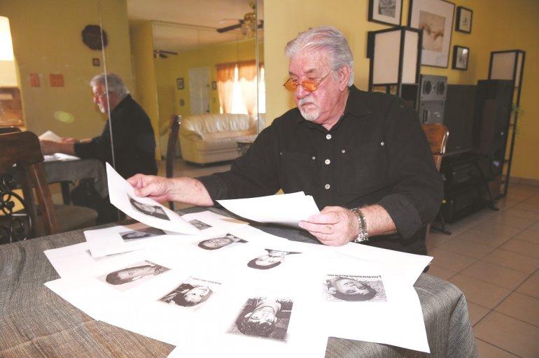 Jorge A. García lleva el dolor a flor de piel por haber perdido 14 familiares en el cruel suceso.