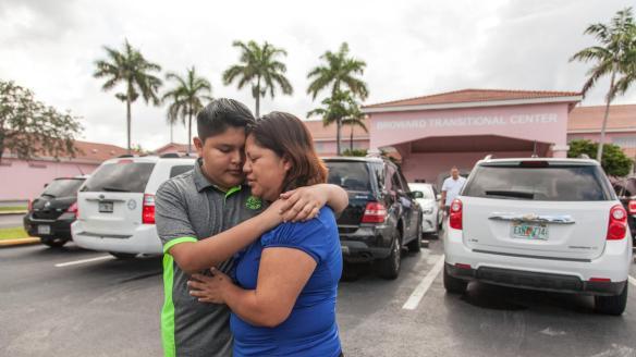 Desde el 8 de marzo, Víctor Chávez está en el centro de detención de Bro...